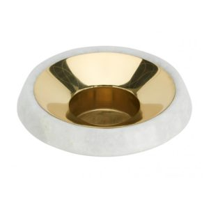 stone-tea-light-holder-brass-angle